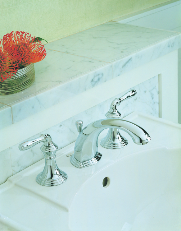 Kohler Widespread Bathroom Sink Faucet K-394 - Waters\' Specialty ...