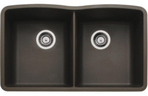 Diamond-Equal-Double-Bowl-Undermount-cafe-brown