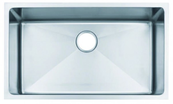 Soci Fino 15 Gauge Single Bowl Sink H1501s Waters